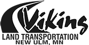 Viking Land Transportation Logo